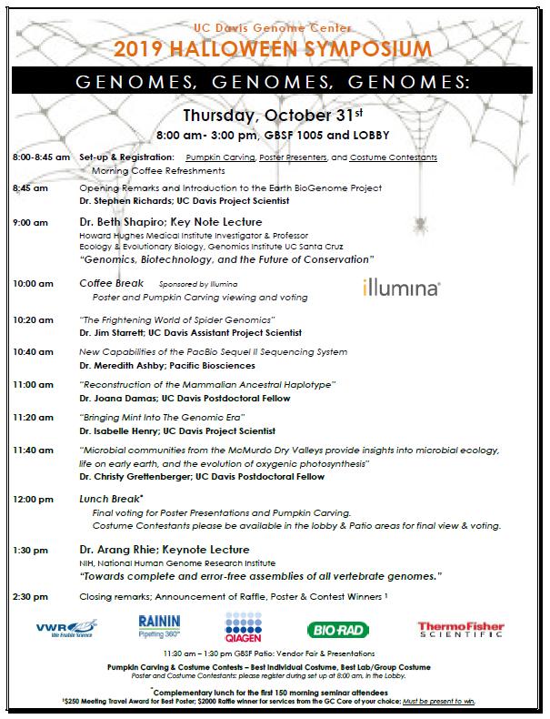 Genome Center Halloween Symposium 2020 UCDavis Genome Center Halloween Symposium – Oct 31 – Jonathan